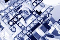 Εργαλεία και αναστολή αρνητικά Στοκ εικόνα με δικαίωμα ελεύθερης χρήσης