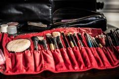 Εργαλεία καλλιτεχνών Makeup Στοκ Εικόνα