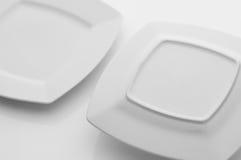 Εργαλεία κουζινών και εστιατορίων, πιάτα Στοκ Εικόνες