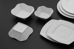 Εργαλεία κουζινών και εστιατορίων, πιάτα Στοκ φωτογραφίες με δικαίωμα ελεύθερης χρήσης