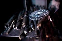 Εργαλεία μετάλλων στην παραγωγή Στοκ φωτογραφία με δικαίωμα ελεύθερης χρήσης