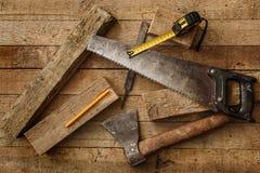 Εργαλεία ξυλουργικής Στοκ φωτογραφίες με δικαίωμα ελεύθερης χρήσης