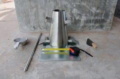 Εργαλεία δοκιμής κατρακυλίσματος Στοκ φωτογραφία με δικαίωμα ελεύθερης χρήσης