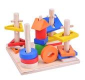 Εργαλεία παιχνιδιών γρίφων λογικής Woden στοκ φωτογραφία με δικαίωμα ελεύθερης χρήσης