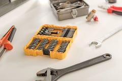 Εργαλεία που απαιτούνται διαφορετικά για την επισκευή Στοκ εικόνα με δικαίωμα ελεύθερης χρήσης