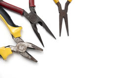 Εργαλεία που απομονώνονται μηχανικά Στοκ Εικόνες
