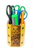 Εργαλεία προμηθειών σχολείου και γραφείων Στοκ Εικόνες