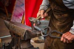 Εργαλεία σιδηρουργών, σιδηρουργείων και σιδηρουργών Στοκ Φωτογραφία