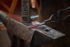 Εργαλεία σιδηρουργών, σιδηρουργείων και σιδηρουργών Στοκ Φωτογραφίες