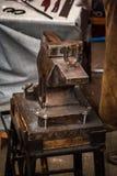 Εργαλεία σιδηρουργών, σιδηρουργείων και σιδηρουργών Στοκ εικόνες με δικαίωμα ελεύθερης χρήσης