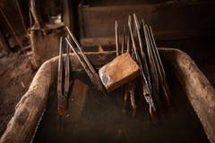 Εργαλεία σιδηρουργών στοκ φωτογραφίες με δικαίωμα ελεύθερης χρήσης