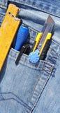 Εργαλεία στην τσέπη Στοκ Εικόνες