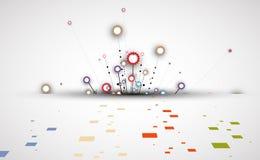 Εργαλεία τεχνολογίας μηχανών αναδρομικός gearwheel μηχανισμός bacground ελεύθερη απεικόνιση δικαιώματος