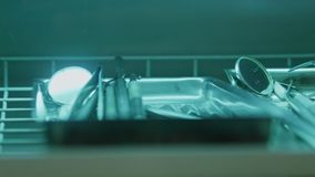 Εργαλεία του οδοντιάτρου απόθεμα βίντεο