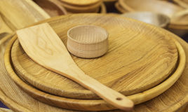 Εργαλεία φιαγμένα από ξύλο Στοκ εικόνες με δικαίωμα ελεύθερης χρήσης