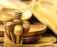 Εργαλεία φιαγμένα από ξύλο Στοκ Εικόνες