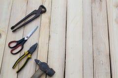3 εργαλεία Στοκ φωτογραφίες με δικαίωμα ελεύθερης χρήσης