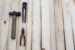 2 εργαλεία Στοκ εικόνα με δικαίωμα ελεύθερης χρήσης
