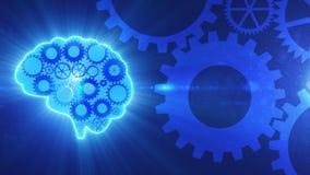 Εργαλεία working_with_light_4K εγκεφάλου διανυσματική απεικόνιση