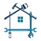 Εργαλείο για την επισκευή και το σπίτι ελεύθερη απεικόνιση δικαιώματος