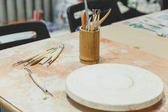 Εργαλείο γλυπτών, τρύγος που φιλτράρεται Στοκ φωτογραφία με δικαίωμα ελεύθερης χρήσης