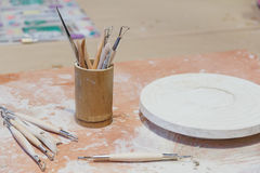 Εργαλείο γλυπτών, τρύγος που φιλτράρεται Στοκ Εικόνες