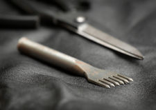 Εργαλείο διατρήσεων δέρματος Στοκ Εικόνες
