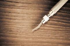εργαλείο μετάλλων ακρίβειας - αφηρημένο υπόβαθρο Στοκ Φωτογραφία
