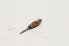 Εργαλείο ξυλουργικής που απομονώνεται στο λευκό Στοκ εικόνες με δικαίωμα ελεύθερης χρήσης