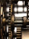 Εργαλείο στο μηχανισμό του παλαιού ρολογιού Στοκ Εικόνες