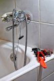 Εργαλείο υδραυλικών στοκ εικόνα