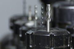 Εργαλείο CNC άλεσης στοκ εικόνες