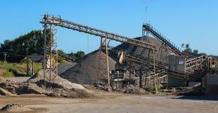 Εργοστάσια αμμοχάλικου Στοκ φωτογραφία με δικαίωμα ελεύθερης χρήσης