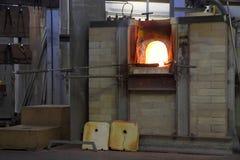 εργοστάσια γυαλιού Στοκ εικόνα με δικαίωμα ελεύθερης χρήσης