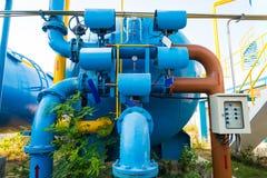 Εργοστάσια επεξεργασίας νερού Στοκ φωτογραφία με δικαίωμα ελεύθερης χρήσης