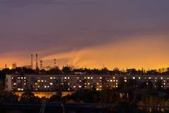 Εργοστάσια καπνού στοκ εικόνες