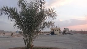 Εργοστάσια τσιμέντου στη Μέση Ανατολή στοκ φωτογραφία