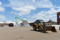 Εργοστάσιο ανακύκλωσης μετάλλων Στοκ Εικόνες