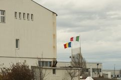 Εργοστάσιο από τη Ρουμανία Στοκ Φωτογραφία
