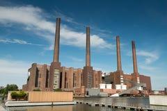 Εργοστάσιο αυτοκινήτων του Volkswagen Στοκ εικόνα με δικαίωμα ελεύθερης χρήσης