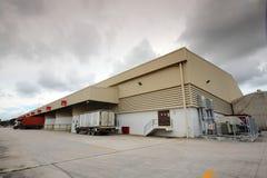 Εργοστάσιο αυτοκινήτων Στοκ εικόνες με δικαίωμα ελεύθερης χρήσης