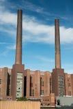 Εργοστάσιο αυτοκινήτων Στοκ φωτογραφία με δικαίωμα ελεύθερης χρήσης