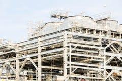 Εργοστάσιο εγκαταστάσεων καθαρισμού υγροποιημένου φυσικού αερίου Στοκ εικόνες με δικαίωμα ελεύθερης χρήσης