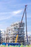 Εργοστάσιο εγκαταστάσεων καθαρισμού υγροποιημένου φυσικού αερίου Στοκ Εικόνα