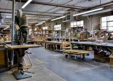 Εργοστάσιο επίπλων Στοκ φωτογραφίες με δικαίωμα ελεύθερης χρήσης
