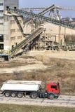 Εργοστάσιο επεξεργασίας άμμου Στοκ Εικόνες