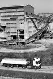 Εργοστάσιο επεξεργασίας άμμου Στοκ Φωτογραφίες