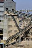Εργοστάσιο επεξεργασίας άμμου Στοκ φωτογραφία με δικαίωμα ελεύθερης χρήσης
