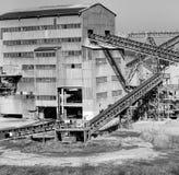 Εργοστάσιο επεξεργασίας άμμου Στοκ εικόνα με δικαίωμα ελεύθερης χρήσης