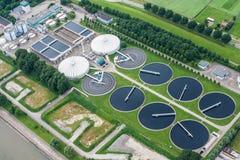 Εργοστάσιο επεξεργασίας νερού Στοκ Φωτογραφία
